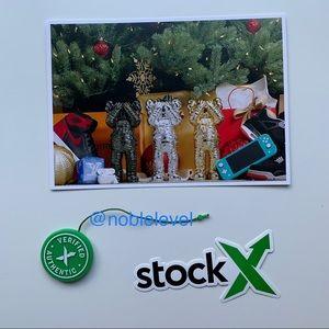 StockX Tag Sticker Verified Authentic Card Jordan
